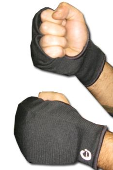 Elasticised Hand Protector - Black - pair