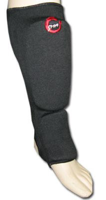 Protective Elasticised Shin-Instep - Black
